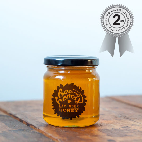 Liquid Lavender Honey Second Place, the best honey in New Zealand