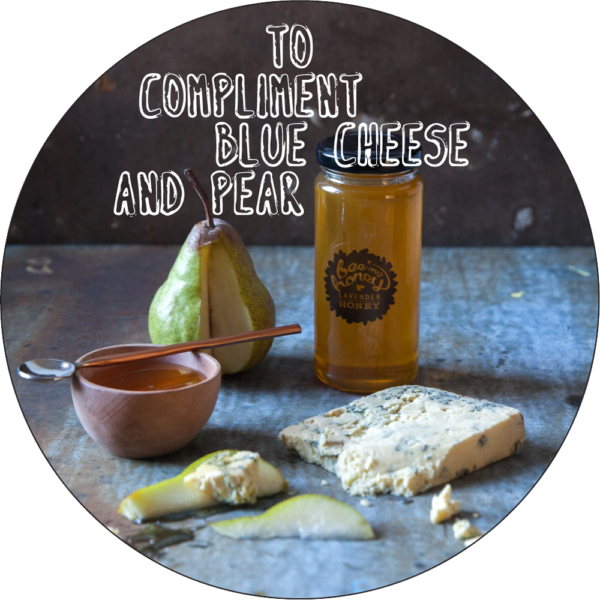 cheese board ideas, pear honey blue cheese